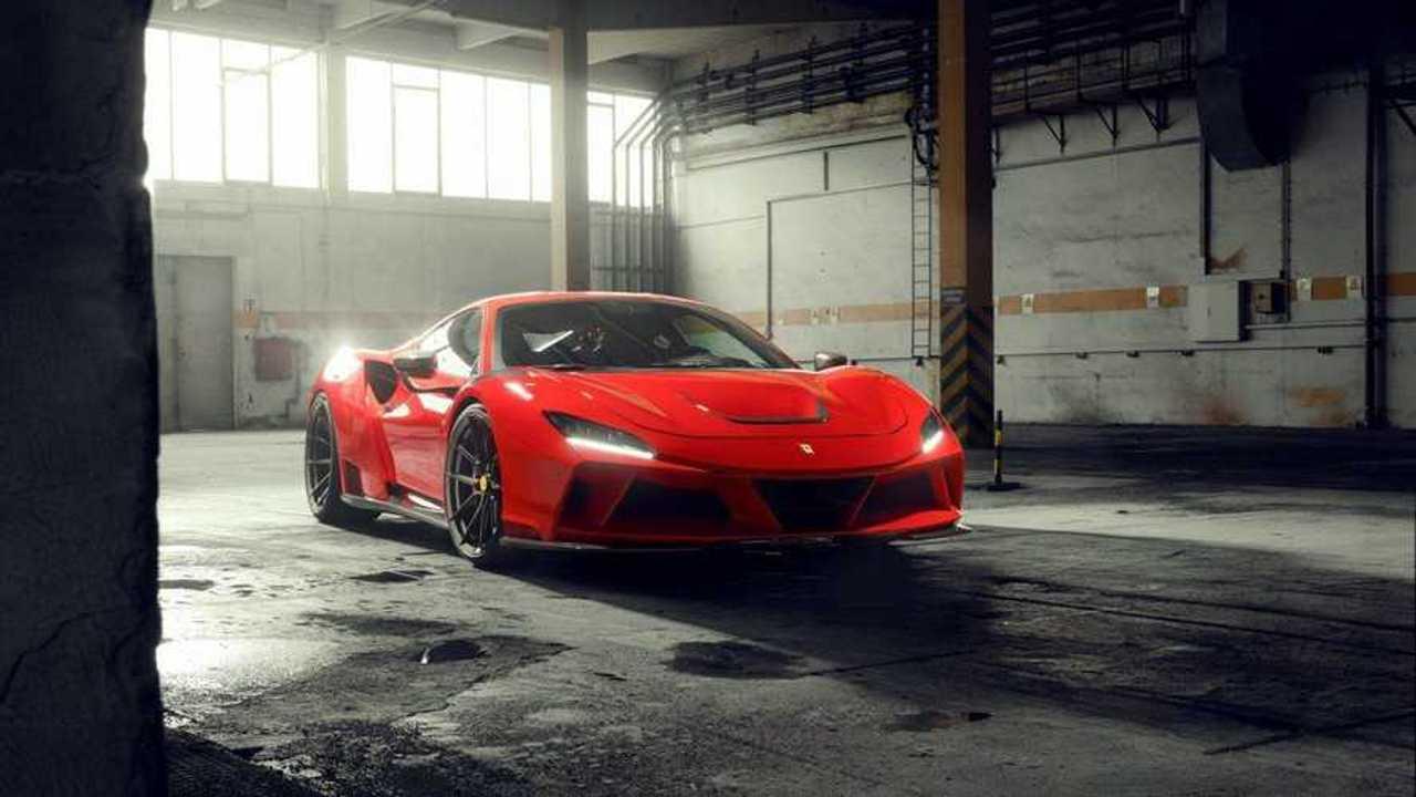 Ferrari F8 Tributo de Novitec