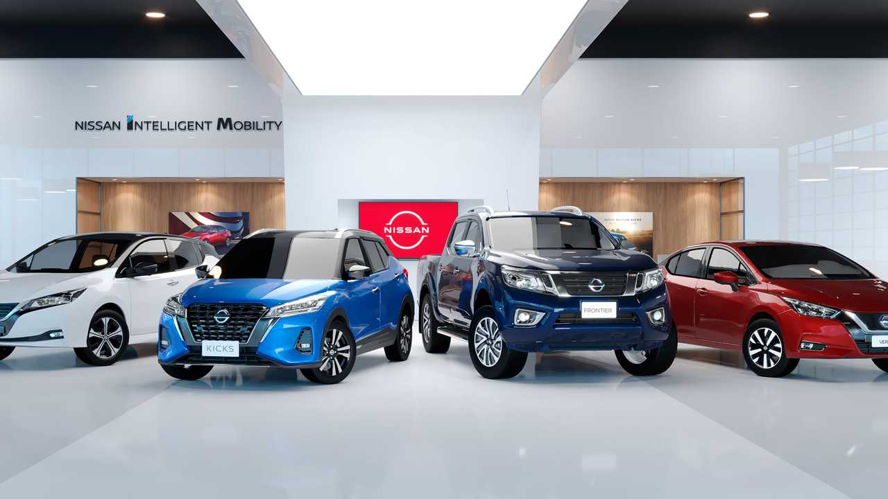 Showroom Virtual Nissan