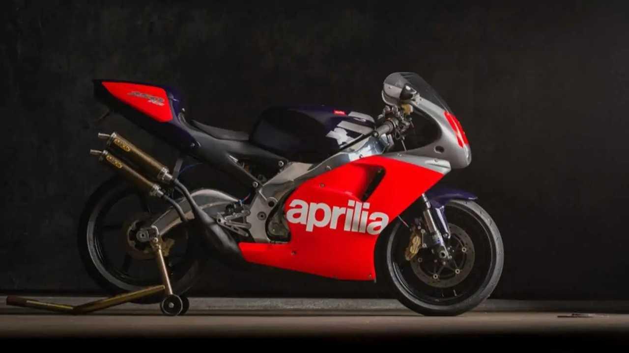 Add This 1995 Aprilia RS250 Loris Reggiani Racing Replica To Your Collection