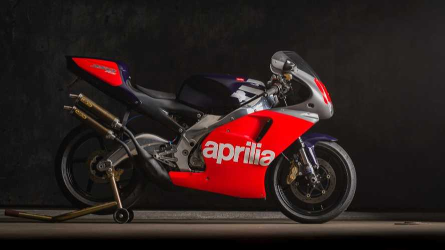 Add This 1995 Aprilia RS250 Race Replica To Your Collection