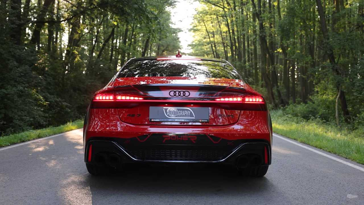 Audi RS 7 tuning potenza