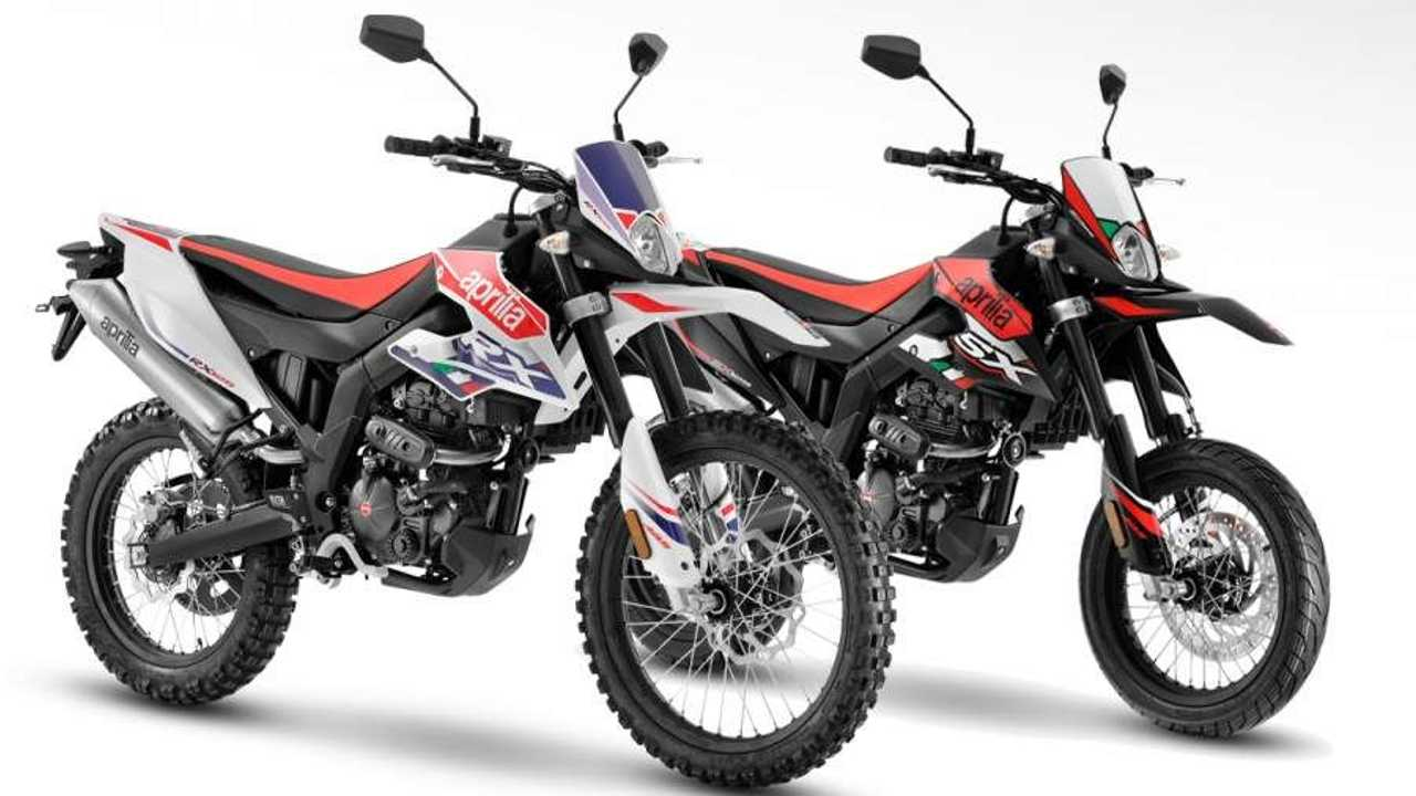 2021 Aprilia RX 125 & SX 125 - Main