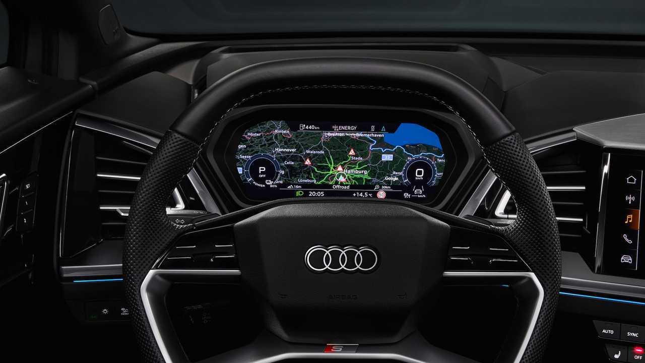 Audi Q4 E-Tron Prototype Interior