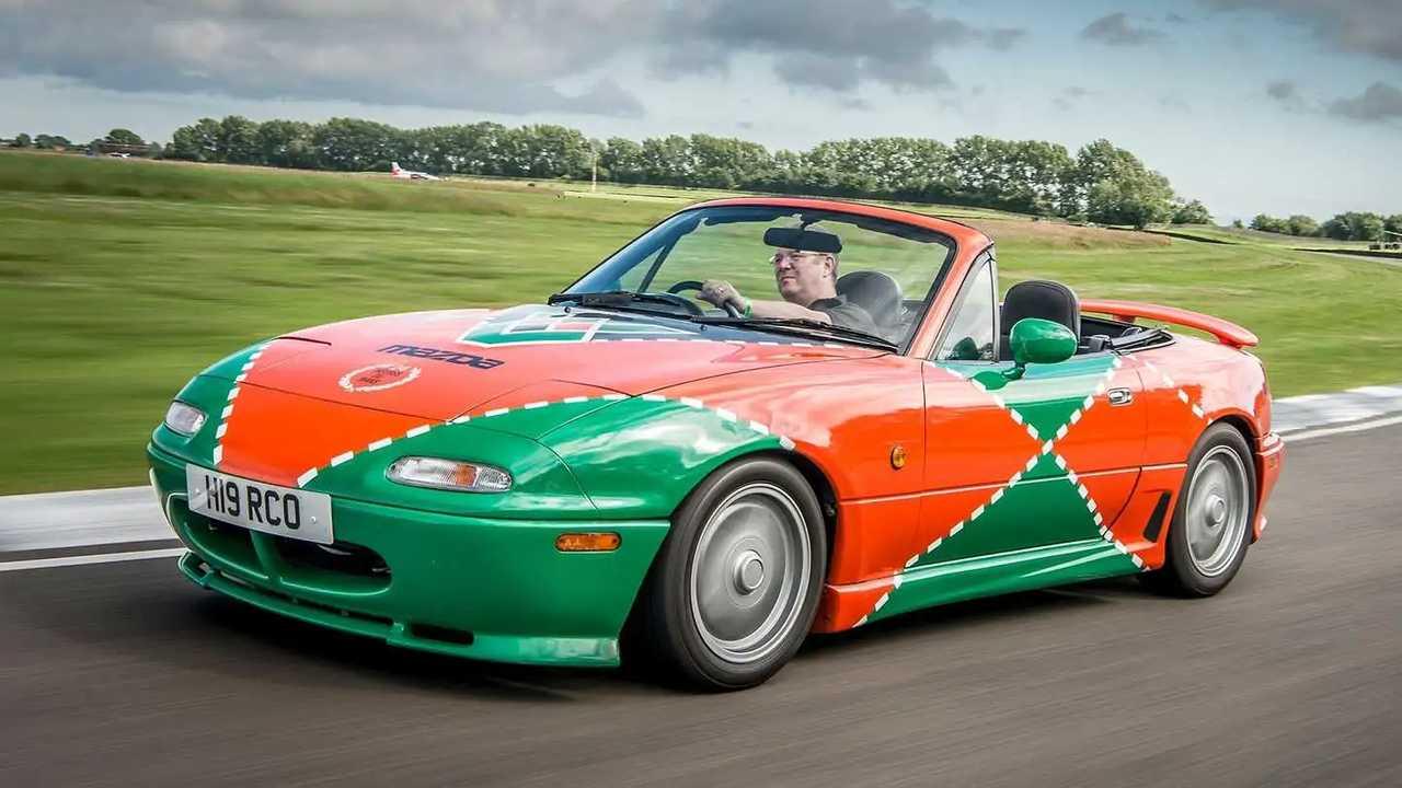 Der Mazda MX-5 Le Mans für Großbritannien