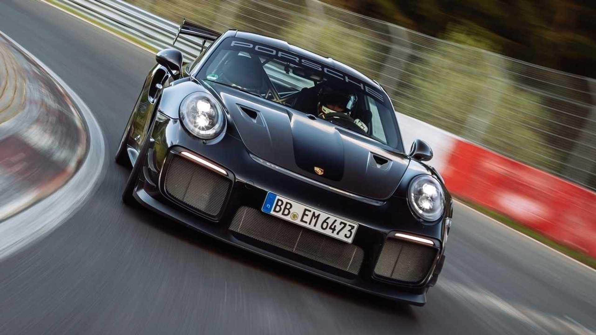 La Porsche 911 GT2 RS s'octroie un nouveau record au Nürburgring