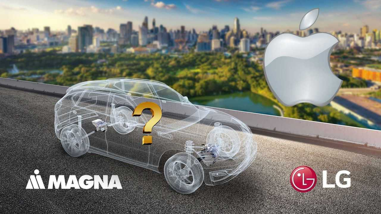 Apple car could be built by LG and Magna