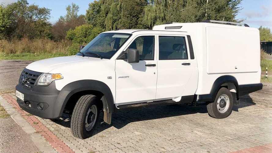 Многофункциональный фургон «УАЗ Профи»