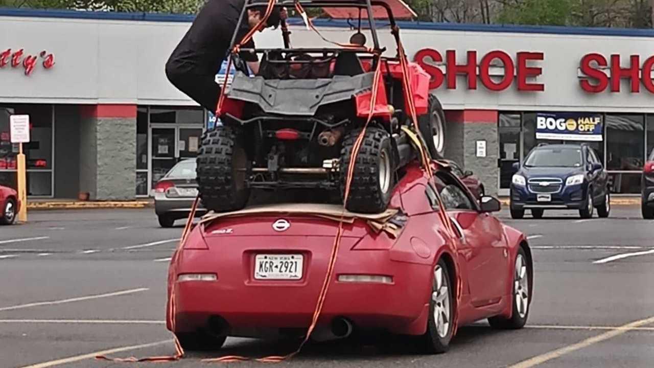 Nissan 350Z szállítás fail