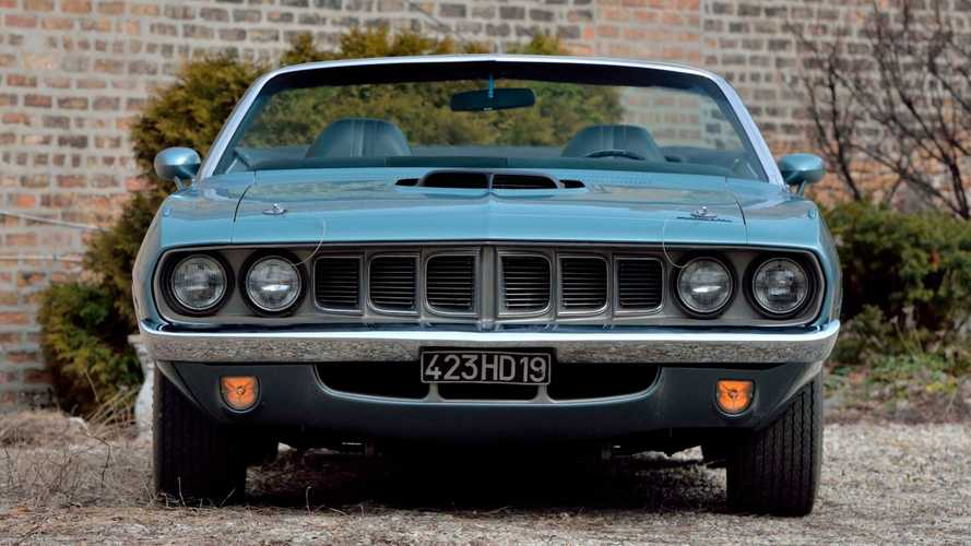 Rare 1971 Plymouth Hemi 'Cuda Up For Auction