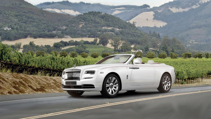 First Rolls-Royce Dawn sells for $750,000