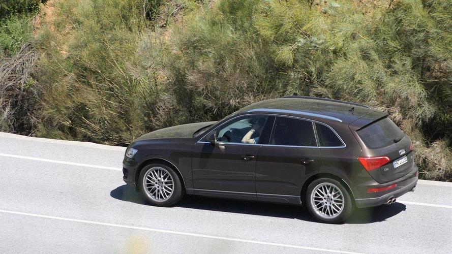 Audi Q5 RS first spy photos