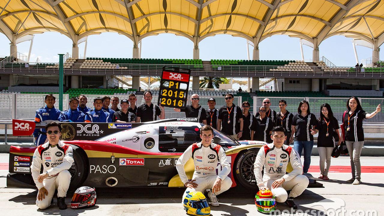2016 LMP3 champions David Cheng, Ho-Pin Tung, Thomas Laurent, DC Racing