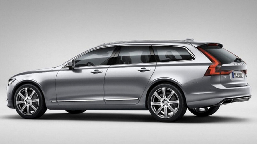 Volvo V90 leaked official pics confirm gorgeous design