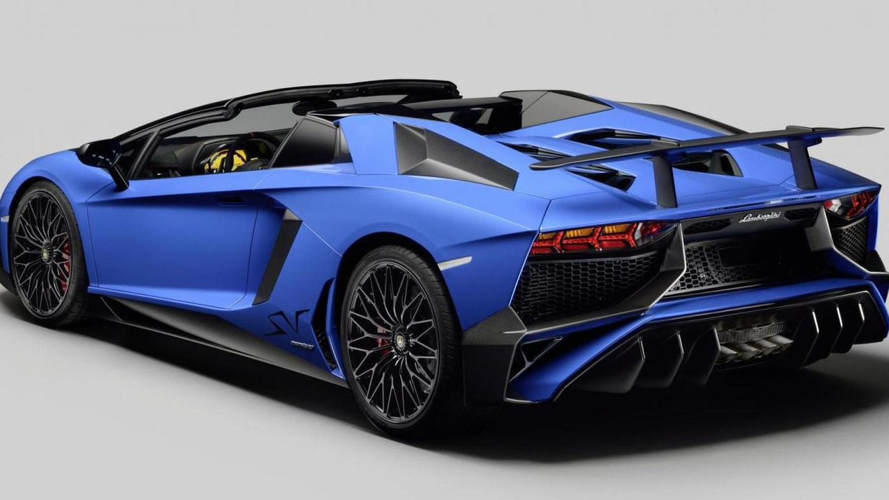 Lamborghini Aventador Superveloce Roadster Pricing Announced For