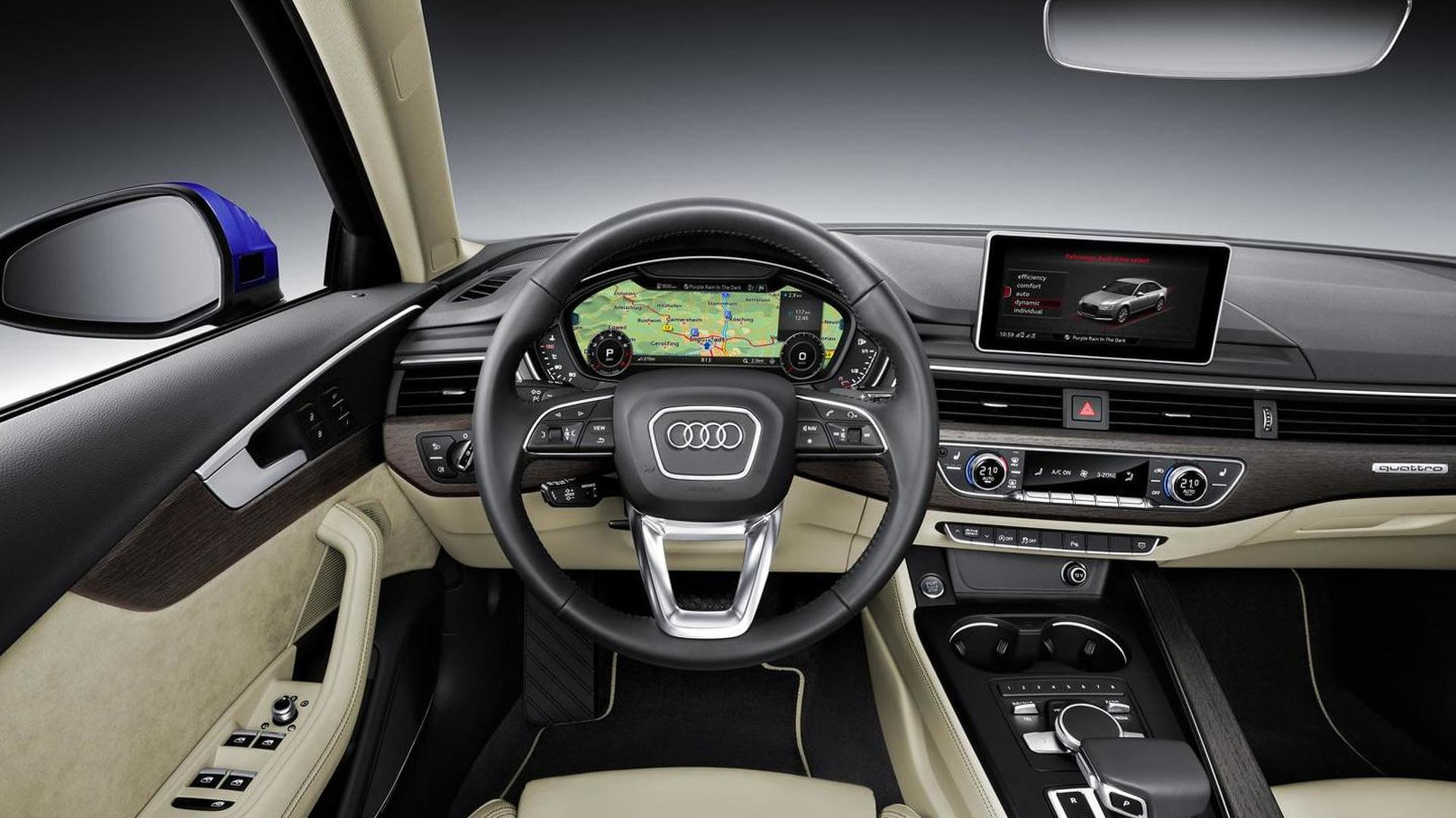 Audi A4 Sedan priced in Germany from €30,650
