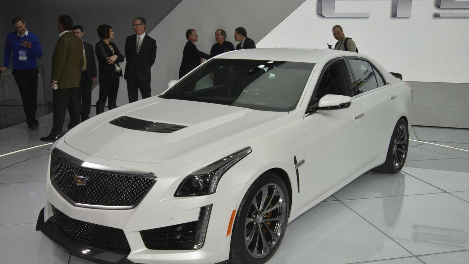 2016 Cadillac Cts V Arrives In Detroit With 640 Bhp