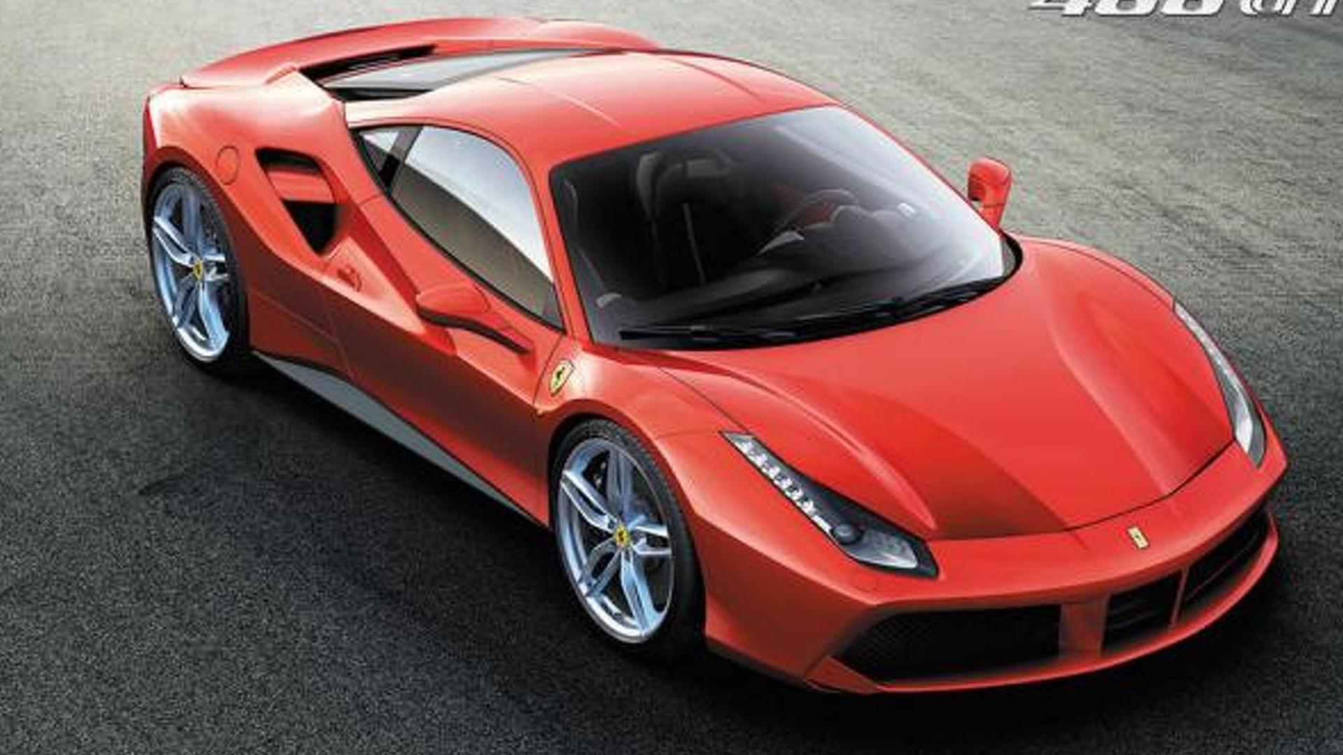 Ferrari 488 Gtb Revealed With Twin Turbo V8 Engine
