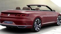 Volkswagen Sport Cabriolet Concept GTE render