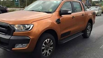 2015 Ford Ranger Wildtrak spy photo