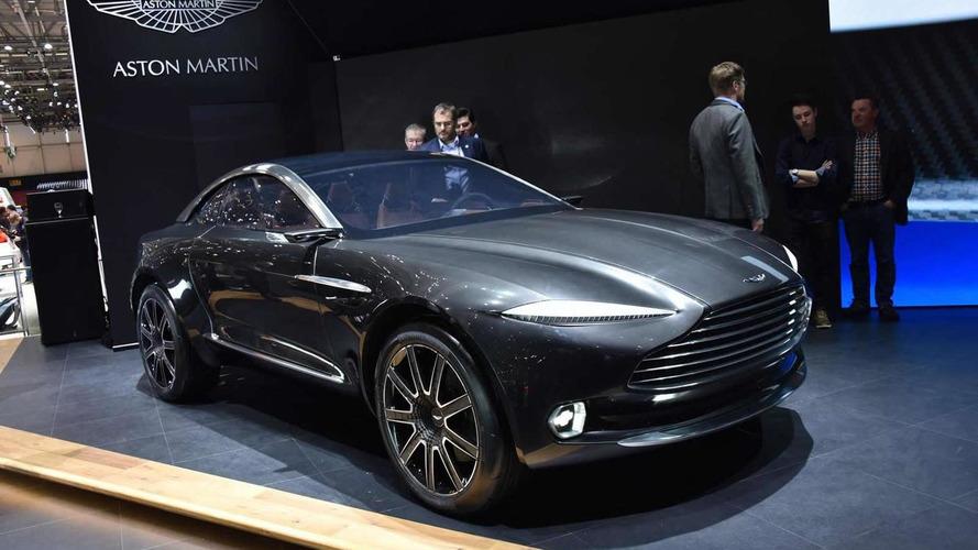 Aston Martin DBX concept at 2015 Geneva Motor Show