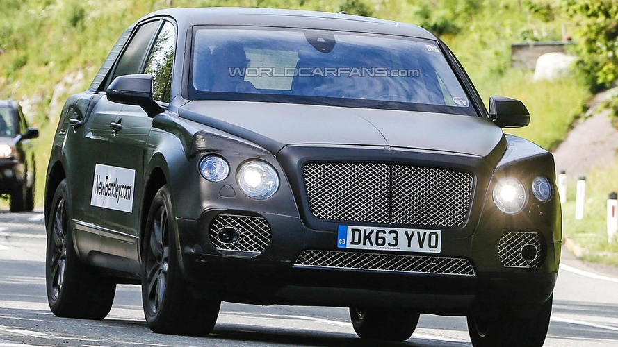 Bentley crossover to feature a new styling philosophy - report