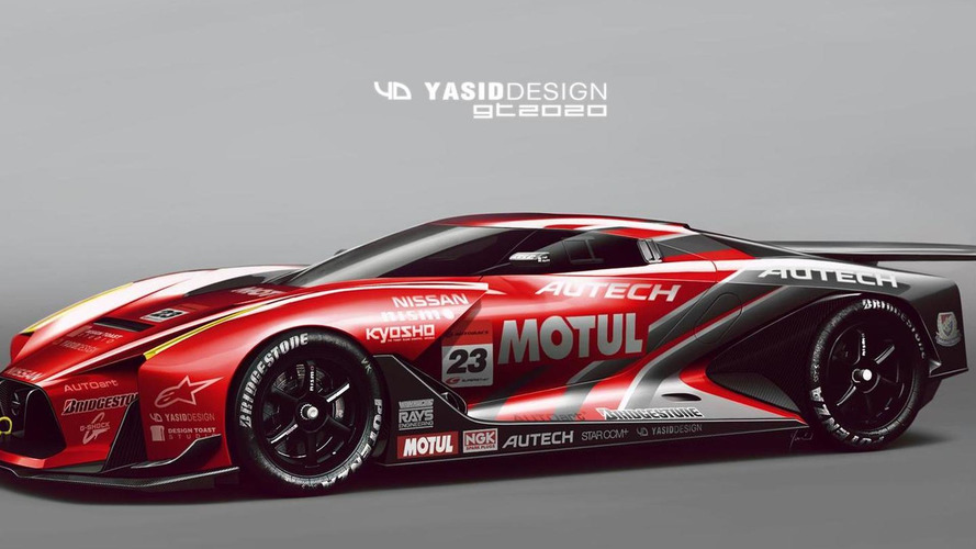 Nissan Vision Gran Turismo GT2020 concept digitally imagined