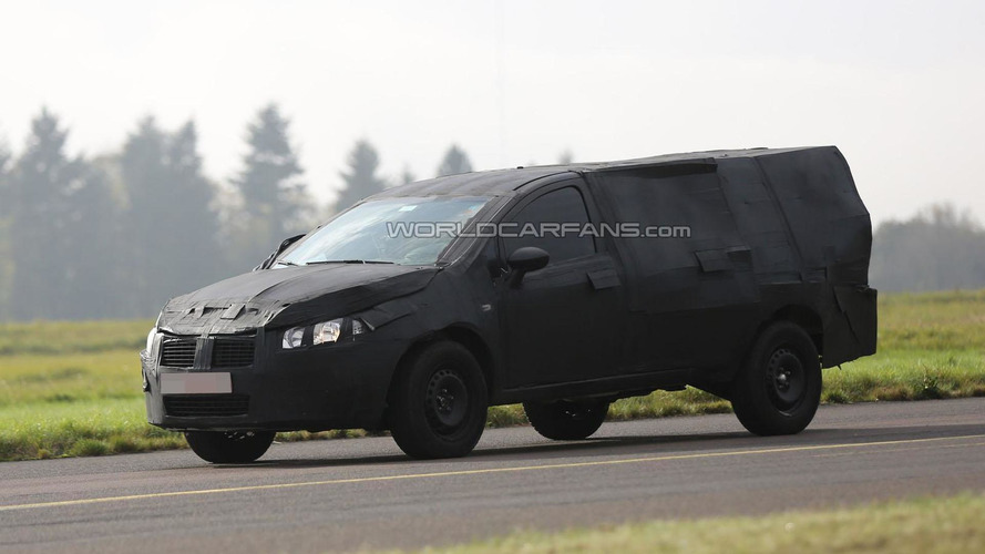 2016 Fiat Strada spied undergoing testing in Germany