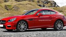 Mercedes-Benz SLK Coupe render