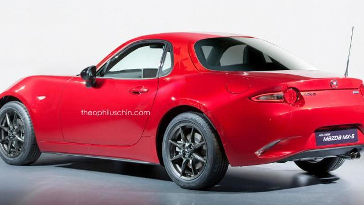 2016 Mazda MX-5 Coupe render