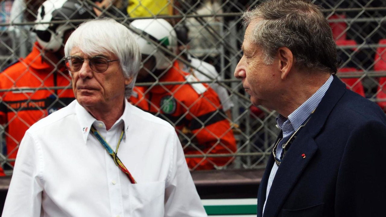 Bernie Ecclestone (GBR) with Jean Todt (FRA), 25.05.2014, Monaco Grand Prix / XPB