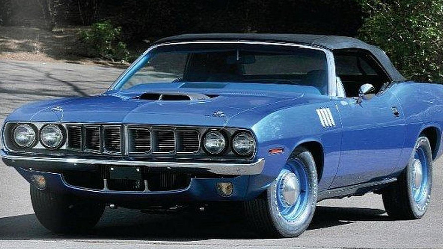 1971 Plymouth Hemi Cuda Convertible goes to auction