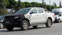 Ford Ranger facelift spy photo