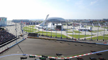 The start of the race, 12.10.2014, Russian Grand Prix, Sochi Autodrom / XPB