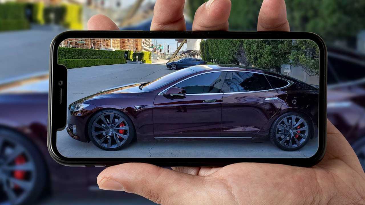 Tesla Model S di Elon Musk