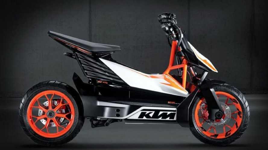 KTM, il primo scooter elettrico è sempre più vicino