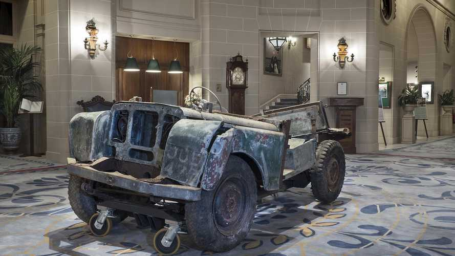 Who owns the very first Land Rover?