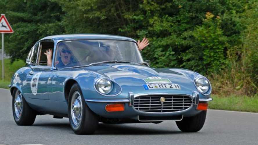Record-breaker to flag off round-Britain Jaguar charity run