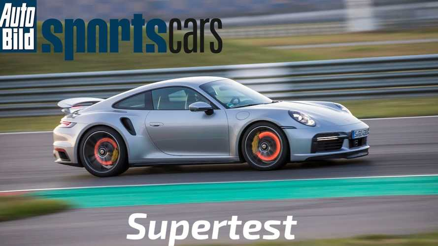 New Porsche 911 Turbo S nearly as fast as McLaren 720S on track
