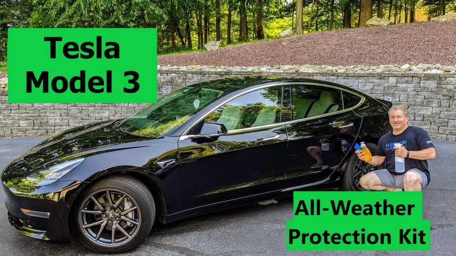 Watch Us Install Tesla's Model 3 All-Weather Protection Kit