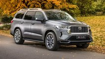 Toyota Sequoia Renderings