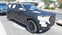 Nuova Jeep Grand Cherokee, le foto spia degli interni