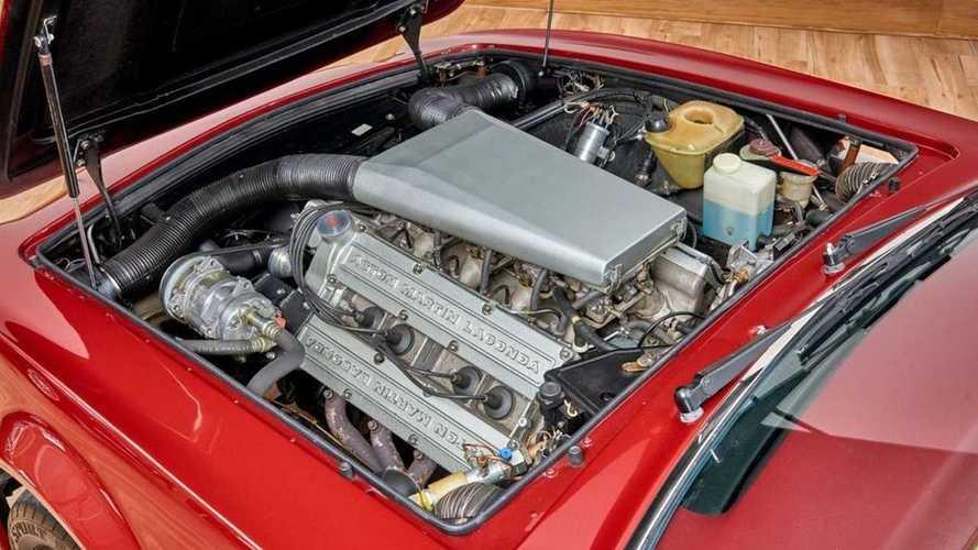 Aston Martin V8 Volante Дэвида Бекхэма