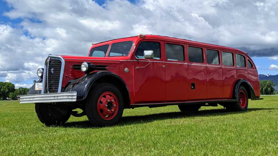 Restored National Park Tour Bus Is On Sale For Over Half A Million