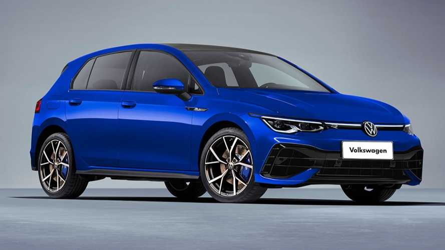 2021 VW Golf R gets new rendering to ease the wait until big debut