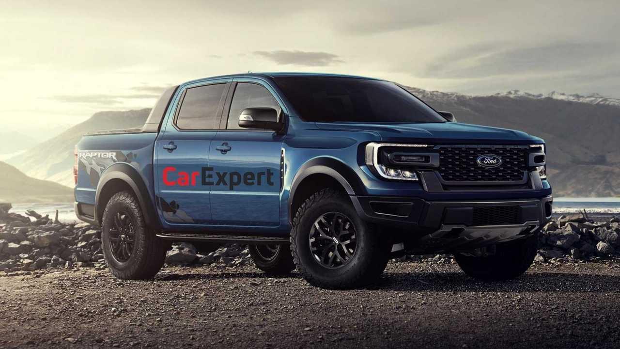 Ford Ranger Raptor 2022 - Projeção