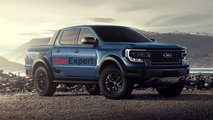 2022 Ford Ranger Raptor renderings