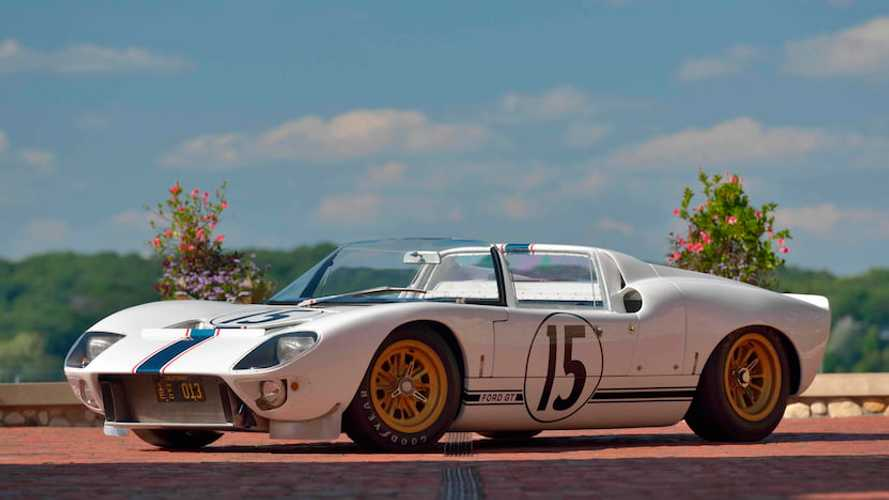 Rare 1965 Ford GT Competition Prototype Expected To Fetch Big Money