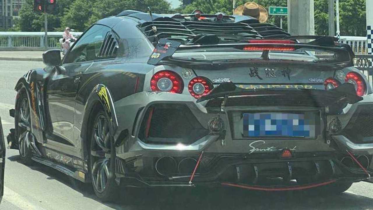 Hondává alakított Nissan GT-R