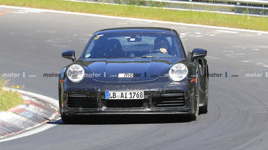 Porsche 911 Sport Classic Spy Photos