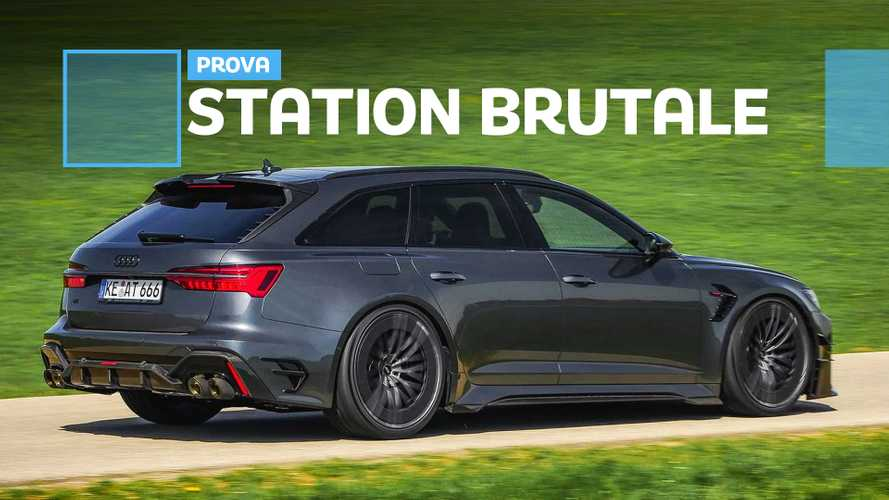 ABT Audi RS6-R, la super station da 740 CV messa alla prova